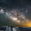 The Milky Way over Half Dome, CA