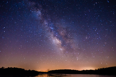 Milky Way @ Lake Manito 2-2