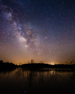 Milky Way @ Lake Manito 2-7