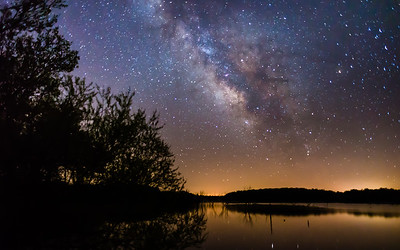 Milky Way @ Lake Manito 2-3