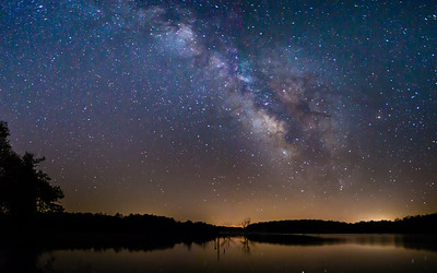 Milky Way @ Lake Manito 2-12