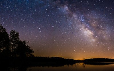 Milky Way @ Lake Manito 2-11