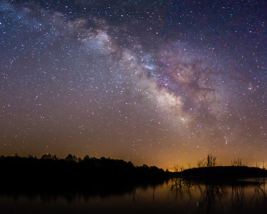 Milky Way @ Lake Manito 2-9