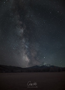 Made from 13 light frames by Starry Landscape Stacker 1.8.0.  Algorithm: Min Horizon Noise