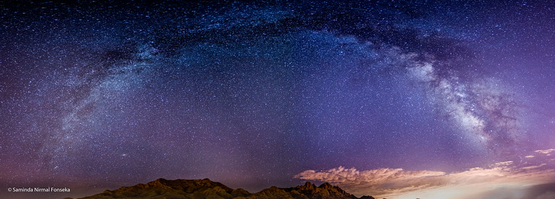 Milky Way over the Organ Mountains