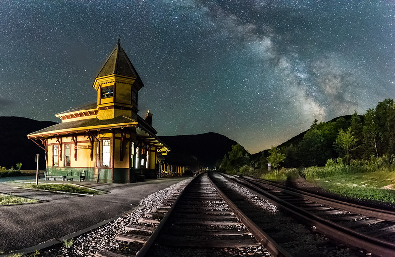Crawford Notch Rail Station