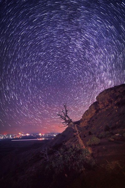 Mesa Verde Star Trails