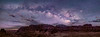 Cloudy Night in Goblin Valley