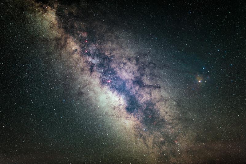 Core of Milky Way
