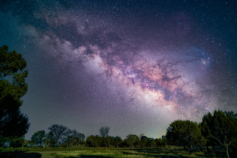 Milky Way in April