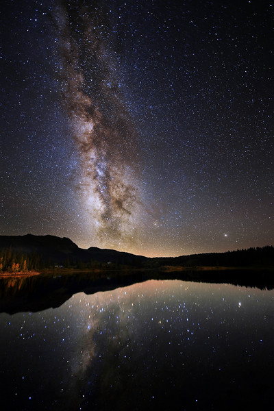 Molas Lake Milky Way