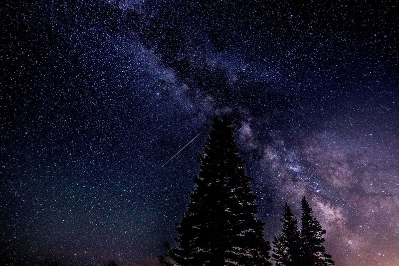 Milky Way at Powder Mountain Resort/Metror