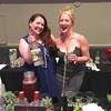 """The Cocktail Gurus,"" Harmony Kelly of Malden, left, and Kitty Amann of Boston"