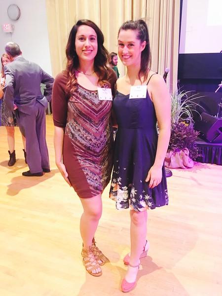 Jackie Dasilva of Lowell, left, and Jill Carmen of Nashua.