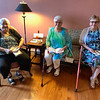 From left, Jeanne Snow, Judy Mulno and Diane Theall, all of Lowell