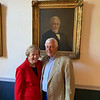 Lowell City Manager Eileen Donoghue and John O'Connor of Lowell