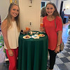 From left, Olivia Miliano of Burlington and Emily Wood of Milford, N.H.