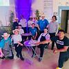 CTI Youthbuild Lowell's culinary team, led by Anna Jabar-Omoyeni, far left in the back row