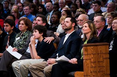 Front row: Ben Fuller, Dianne and Chris Fuller, younger son Joshua, Scott and Faith (Fuller) Umstattd. sh