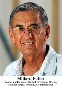 Millard Fuller, founder and president of Habitat for Humanity International. (2003)