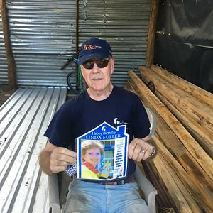 Fuller Center volunteer and donor Doug Miller in Nicaragua.