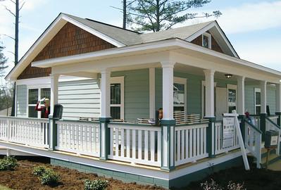 Atlanta Habitat house in Lakewood Commons neighborhood.