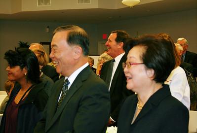 KunMo and KyungJa Chung of South Korea.