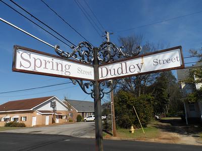 Millard Fuller Boulevard begins on the east end at Dudley Street.