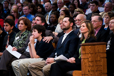 Front row: Ben Fuller, Dianne and Chris Fuller, younger son Joshua, Scott and Faith (Fuller) Umstattd. sh