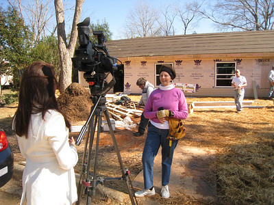 "10 02-03 Linda Fuller interview: ""Millard would be happy that we are remembering his death by working on a Fuller Center duplex.""  ff"