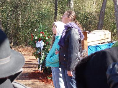 """Georgia Luedi-Fuller with daughter Sophie sing """"Amazing Grace"""". Jim Jordan"""