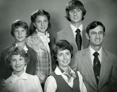 1977 Fuller family portrait.