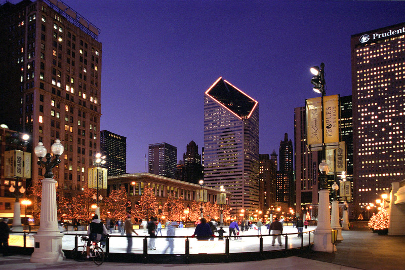 Skating Rink at Millennium Park