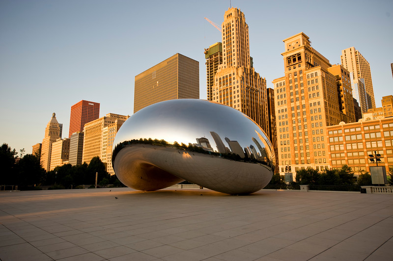 Cloudgate at sunrise