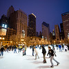 Skating at Millennium Park