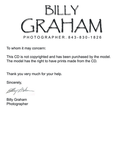 Photography Copyright Release Form Photographer Rights Release Form