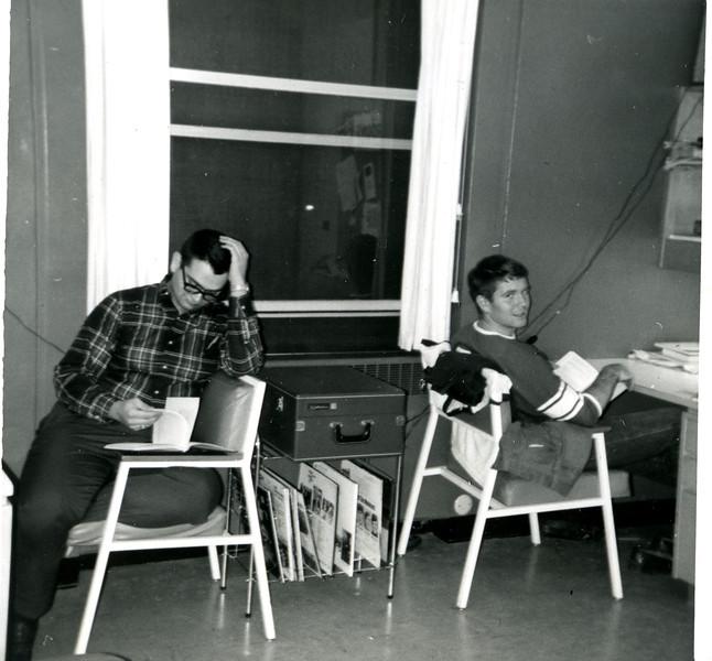 Jim Toscano and Randy Thompson  (Roommates)
