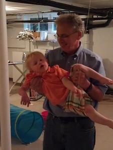 Granpop's way of carrying kids