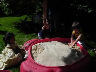 Enjoying the sandbox