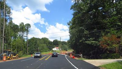 Hopewell Road RoundAbout Milton Georgia (2)