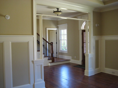 Cedar Park New Home Dining room And Foyer