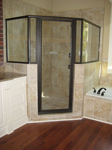 Cedar park Home master Bathroom