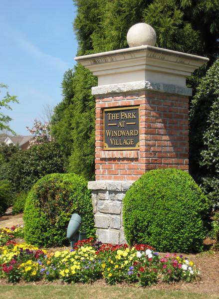 Park At Windward Village Alpharetta Townhomes (1)
