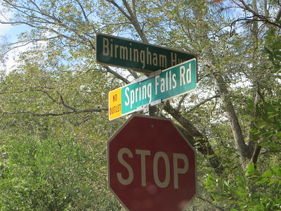 Spring Falls Road Spingwood Milton Neighborhood