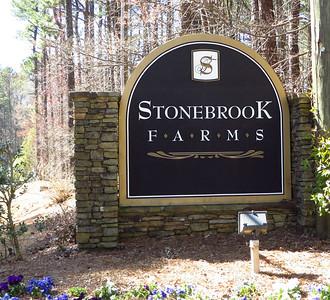 stonebrook farms milton georgia entrance