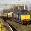 47828 heads the Northern Belle south through Wolverton on its way to Kensington Olympia on 7/1/12