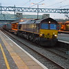 66120 heads 4M07 Felixstowe - Burton through Milton Keynes 02/04/16