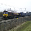 66050 'EWS Energy' passes Bradwell, MK on 4O57 Hams Hall - Dollands Moor on 23rd Feb 2013