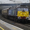 47805 hammers through Wolverton on 17th March 2013 with 5Z46 London Euston - Coventry Northern Belle ECS