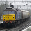 47828 on the rear of 5Z46 London Euston - Coventry through Wolverton on 17th March 2013